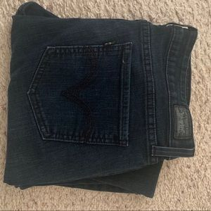 Levis Dark blue jeggings